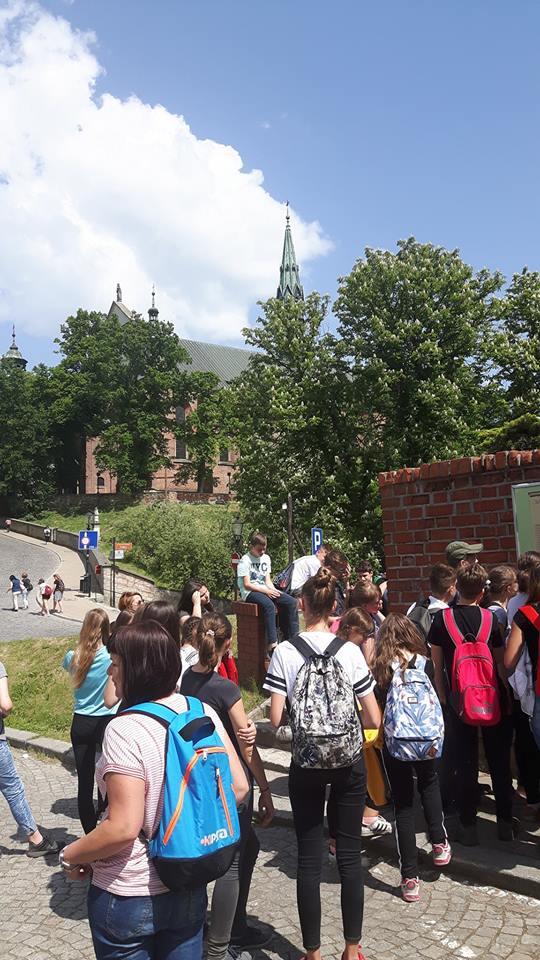 SP nr 6 wyruszyła na podbój Sandomierza