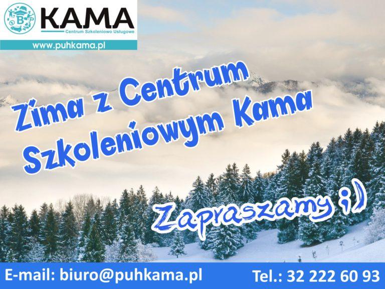 Zima z Centrum Szkoleniowym Kama
